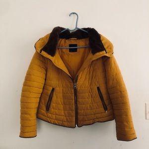 ZARA yellow jacket